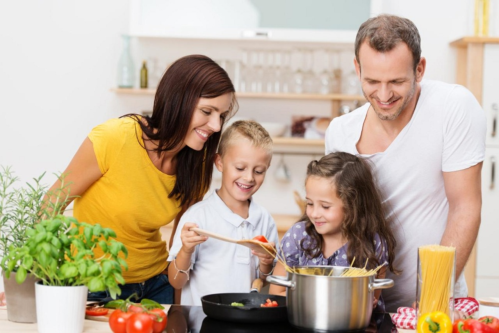 Make Cooking a Family Activity