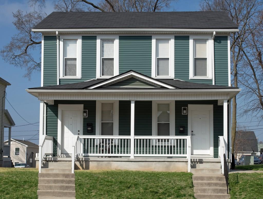 modern duplex housing